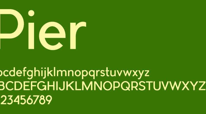 使えるフリーフォント- Pier, Cicero Serif
