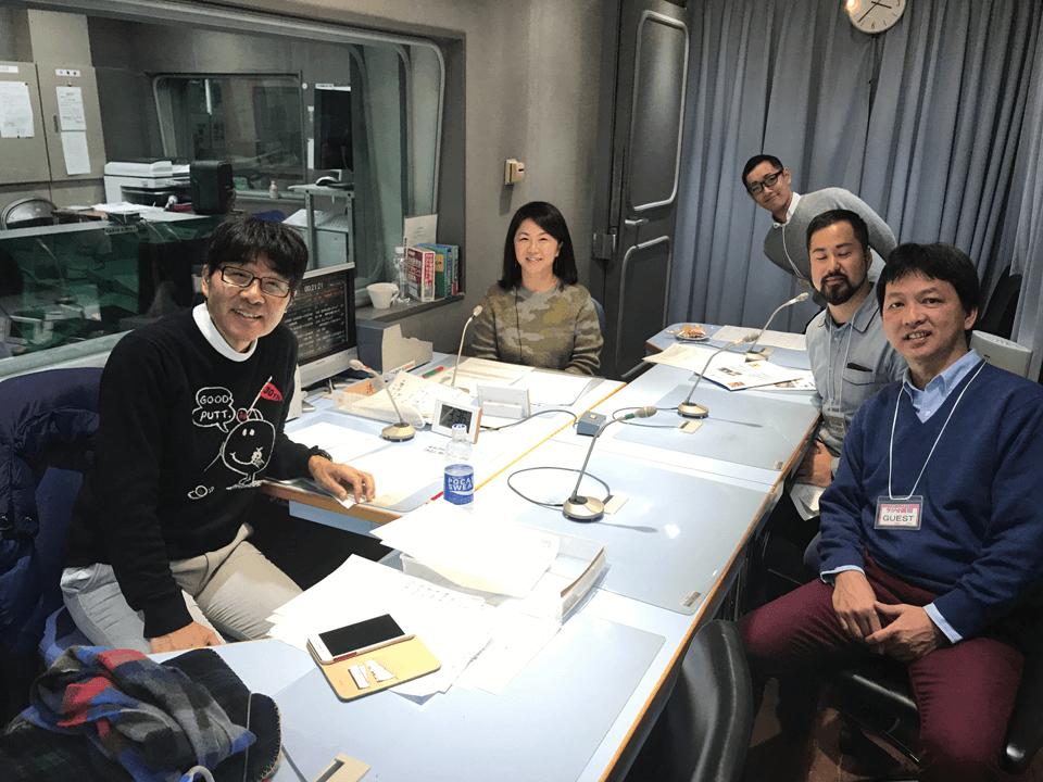 ラジオ関西「原田伸郎 のびのび金曜日」生出演!