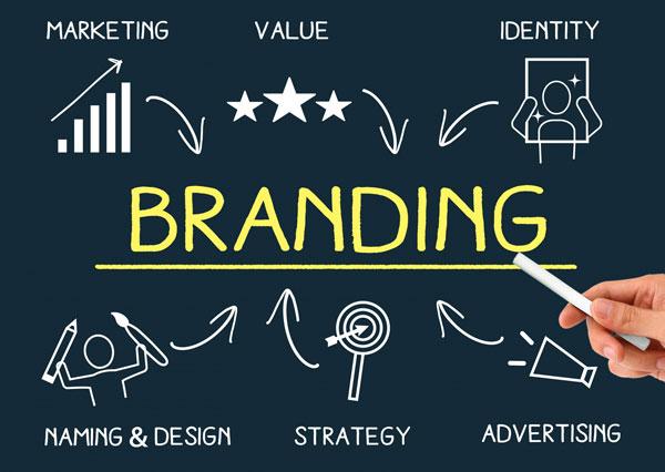 ブランドを構築するブランディングのイメージ