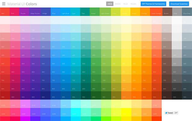 配色デザインに役に立つ無料カラーツール