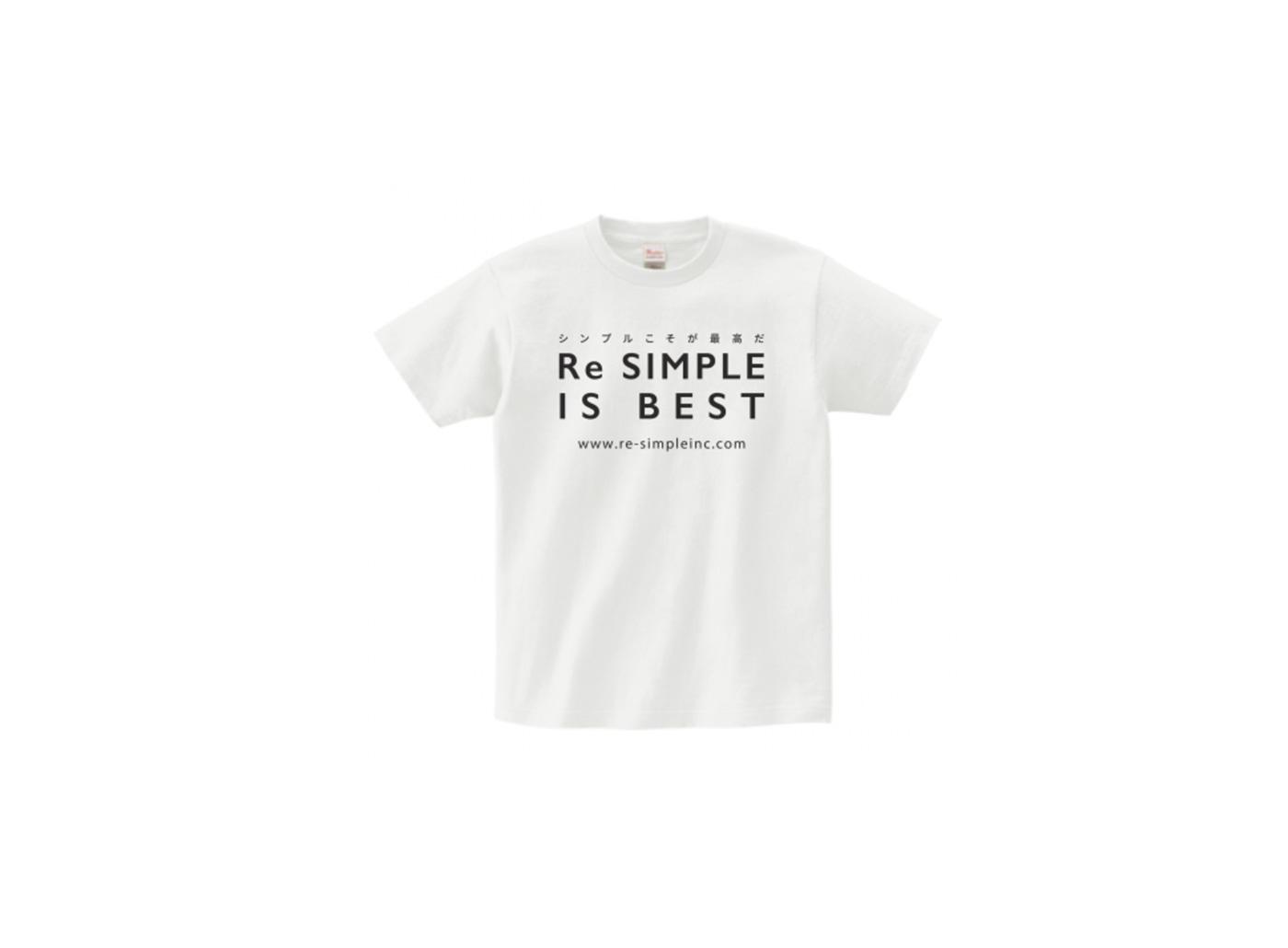 リシンプルTシャツ